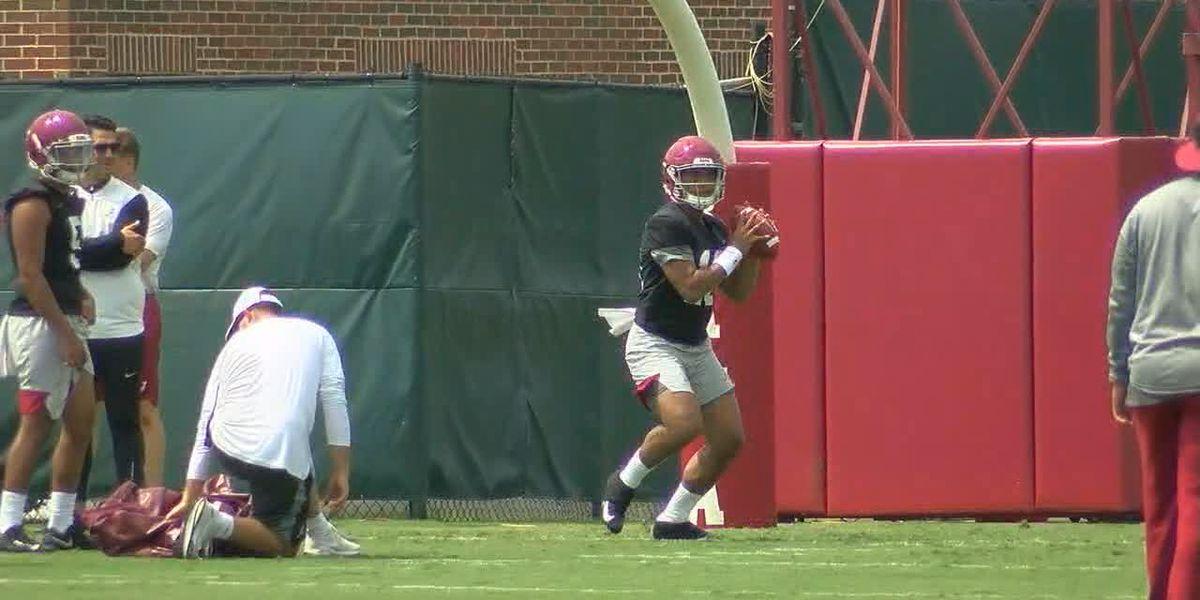 Watch Alabama practice as Tide begins Fall Camp