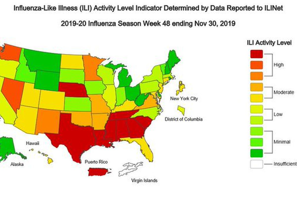 US flu season arrives early, driven by an unexpected virus