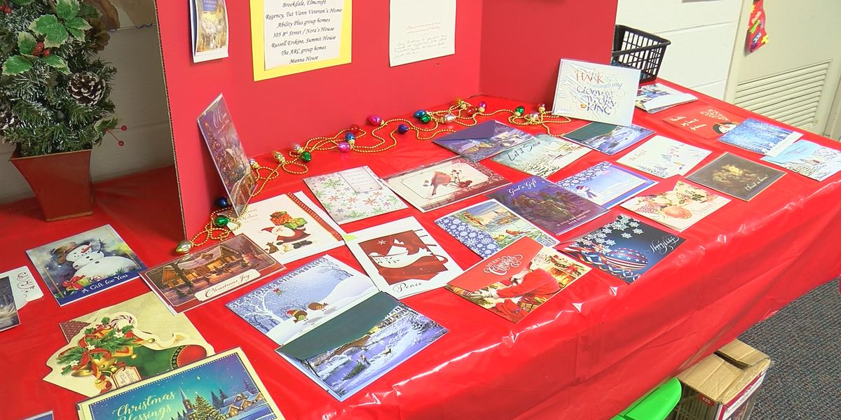 Huntsville church collecting Christmas cards for the elderly