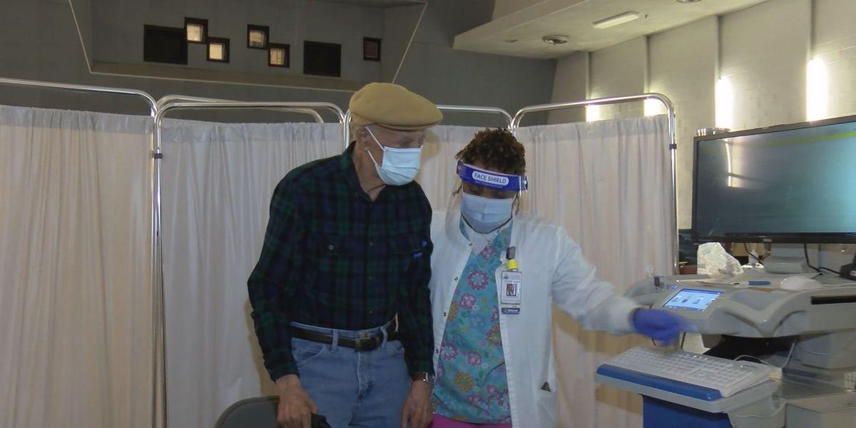 Tuskegee WWII veteran, 102, gets COVID-19 vaccine