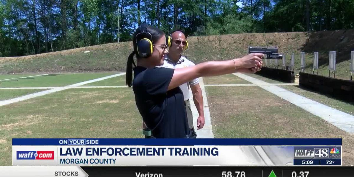 Law enforcement training in Morgan County