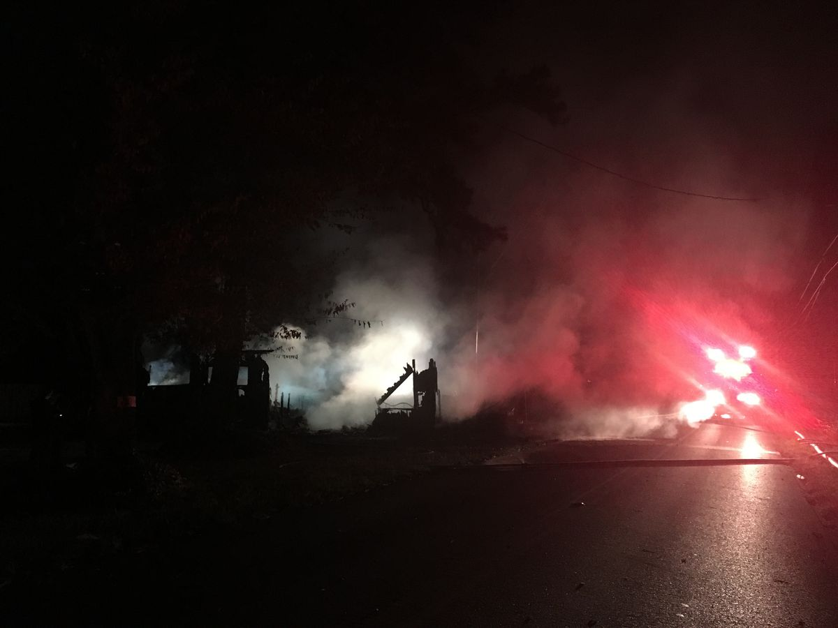 Early Morning Fire Destroys House in Madison