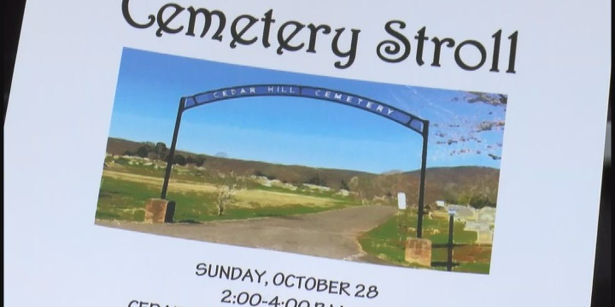 Scottsboro to have its first Cemetery Stroll this weekend