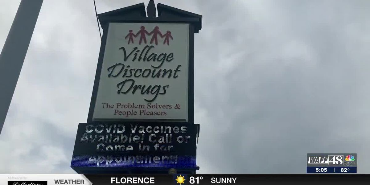 Pause in Johnson & Johnson vaccines will not put one Shoals pharmacy behind in vaccine distribution