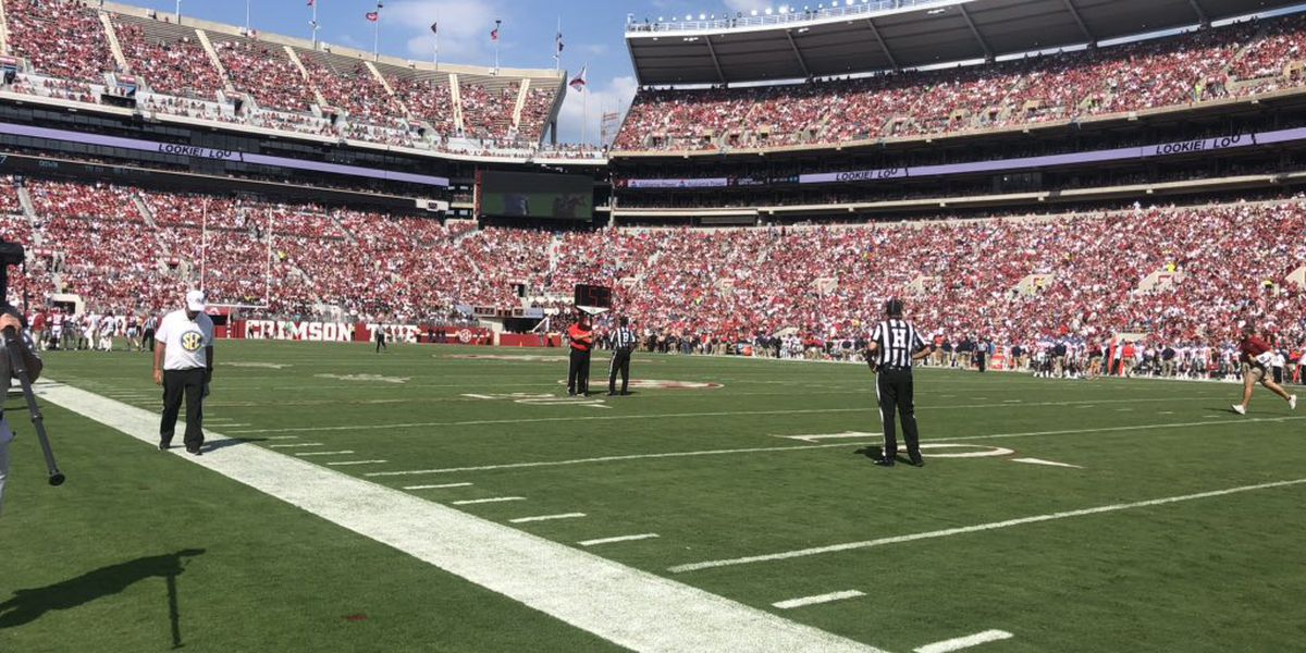 No. 2 Alabama brings home a big win against Ole Miss
