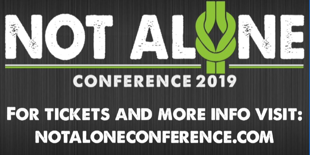 Not Alone Conference aims to break the stigma of mental health