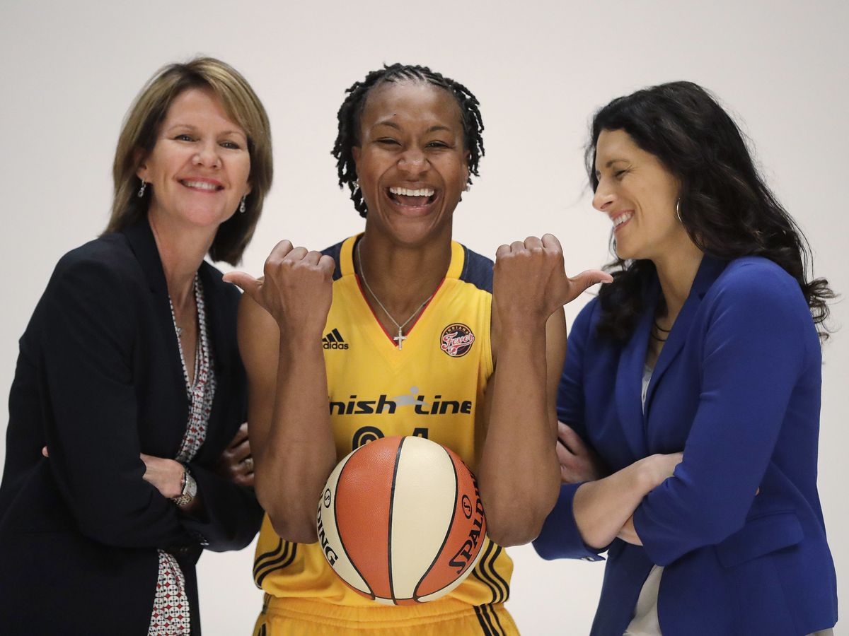 Pacers hire NBA's 1st female assistant general manager