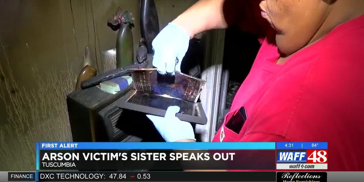 Tuscumbia arson victim's family speaks about house fire allegedly set by ex-fiancee
