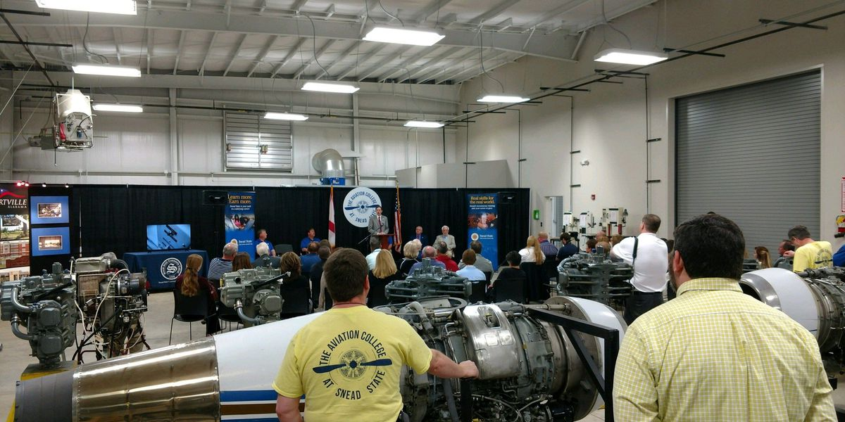 Snead State Community College gets new aviation facility